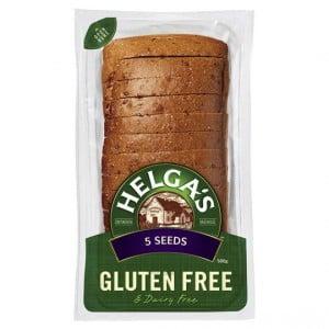 Helga's Gluten Free Bread 5 Seeds
