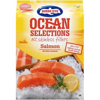 Sara reviewed Birds Eye Ocean Selections Fillets Salmon