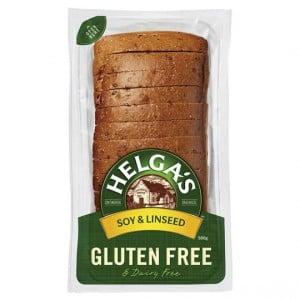 Helga's Gluten Free Bread Soy & Linseed