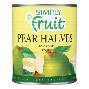 Simply Fruit Pear Halves In Syrup