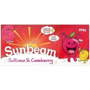 Sunbeam Sultanas & Cranberry