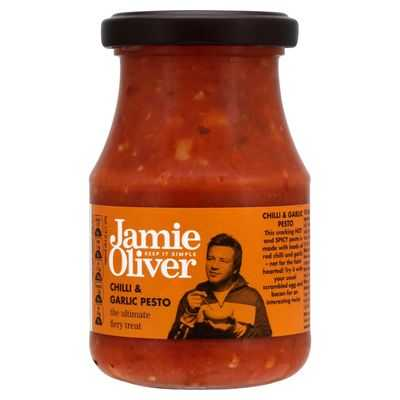 Jamie Oliver Pesto Chilli And Garlic