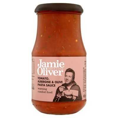 Jamie Oliver Pasta Sauce Aubergine & Olive