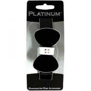 Platinum Hair Clip Classic