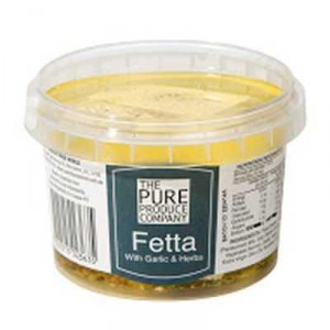 The Pure Produce Company Fetta With Garlic & Herbs