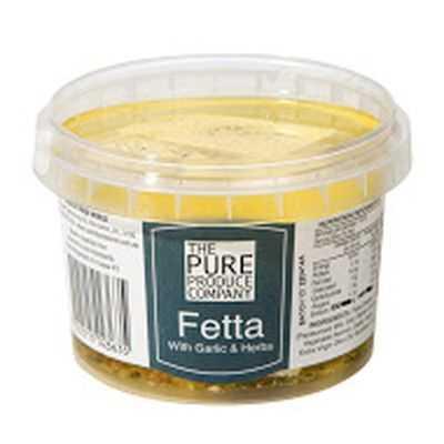 The Pure Produce Company Fetta With Garlic & Herbs