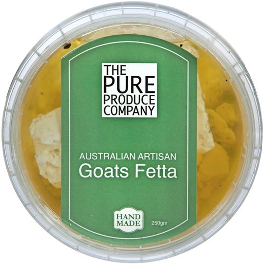 The Pure Produce Company Australian Artisan Goats Fetta