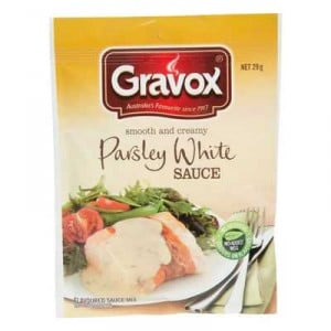 Gravox Finishing Sauce Parsley White Smooth & Creamy