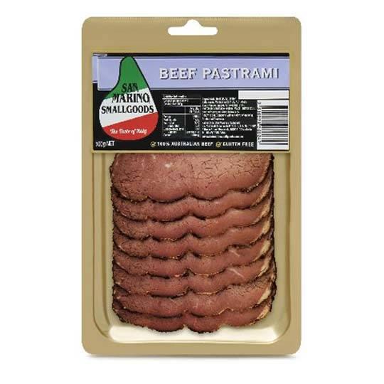 San Marino Beef Pastrami