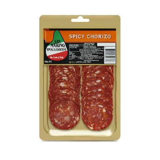 San Marino Spicy Chorizo