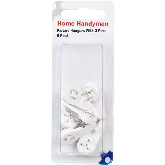 Home Handyman Tools 3 Pin Picture Hangers