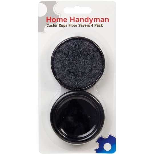 Home Handyman Tools Castor Cups Floor Savers