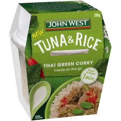 John West Tuna & Rice Thai Green Curry