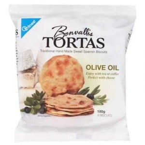 Bonvallis Cracker Olive Oil Tortas