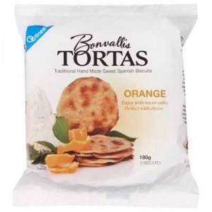 Bonvallis Cracker Orange Tortas