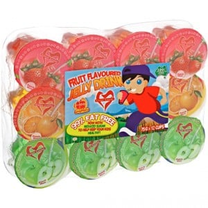 Fruit Flavoured Snacks Jelly Drinks