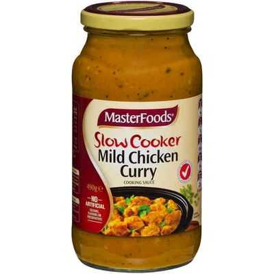 Masterfoods Simmer Sauce Mild Chicken Curry