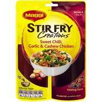 Maggi 2-step Stir Fry Creations Sweet Chilli & Cashew Chicken