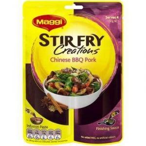 Maggi 2-step Stir Fry Creations Chinese Bbq Pork Stir Fry
