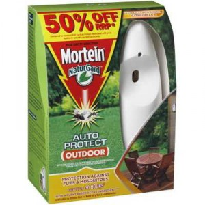 Mortein Naturgard Auto Insect Control System Outdoor Bonus Pack