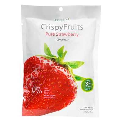 Health Attack Strawberry Crispy Fruit