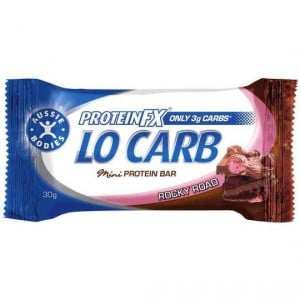 Aussie Bodies Protein Fx Lo Carb Bar Rocky Road