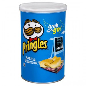 Pringles Chips Salt & Vinegar