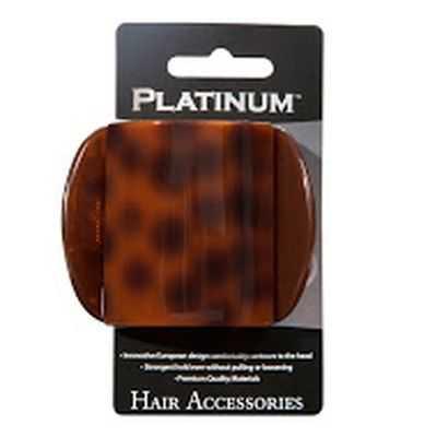 Platinum Hair Clip Small Euro