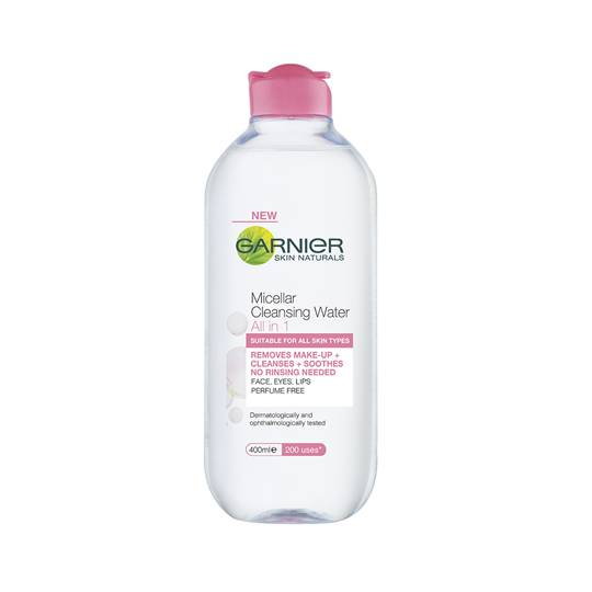 Garnier Miceller Facial Cleanser All In 1 Cleans