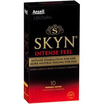 Ansell Skyn Condoms Intense Feel