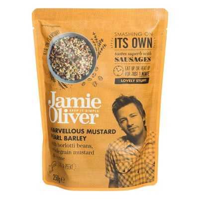 Jamie Oliver Heat & Serve Mustard Pearl Barley