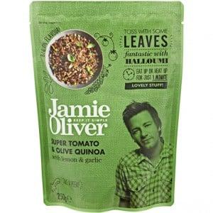 Jamie Oliver Heat & Serve Sundried Tomato & Olive Quinoa