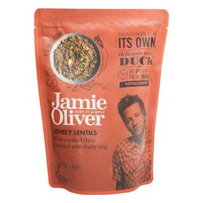 Jamie Oliver Heat & Serve Lentils