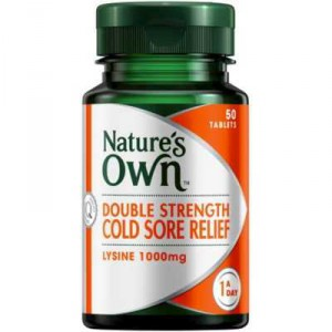 Nature's Own Cold Sore Relief Tablets