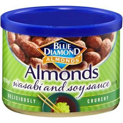 Blue Diamond Almonds Wasabi & Soy