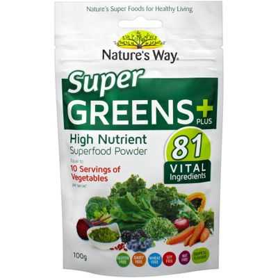 Nature's Way Super Foods Green Boost