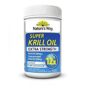 Nature's Way Super Krill Oil Extra Strong