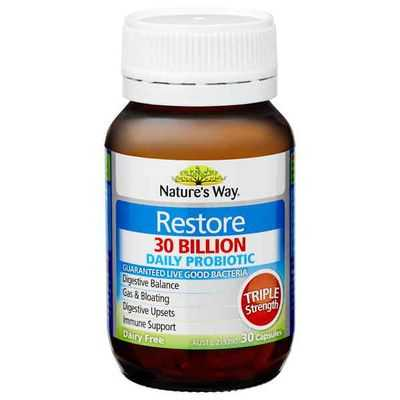 Nature's Way Restore Probiotic 30 Billion