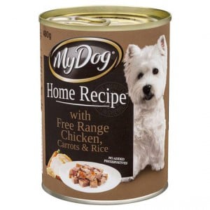 My Dog Home Recipe Adult Dog Food Chicken Carrots & Rice