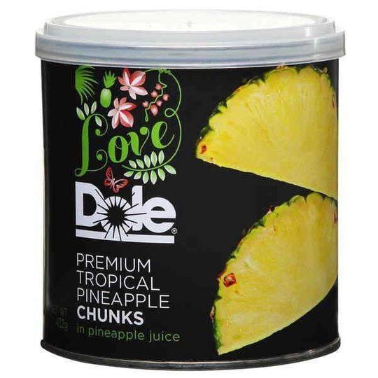 Love Dole Pineapple Premium Tropical Chunks