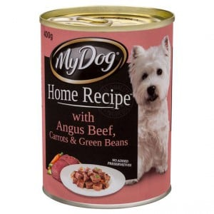 My Dog Home Recipe Adult Dog Food Beef Carrots & Green Beans