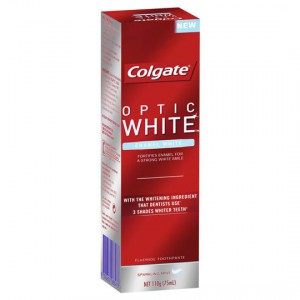 Colgate Toothpaste Optic White Enamel White