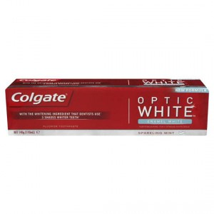 Colgate Optic White Toothpaste Enamel