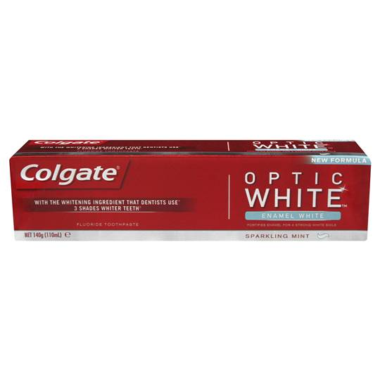 Kate Shelby Author: Amazing Beautiful Individual reviewed Colgate Optic White Toothpaste Enamel