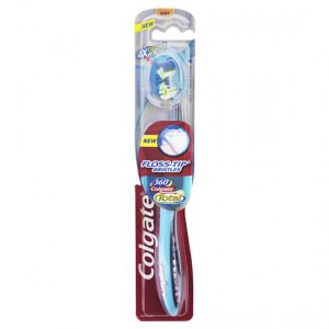 Colgate Toothbrush Floss Tip 360 Degrees Soft