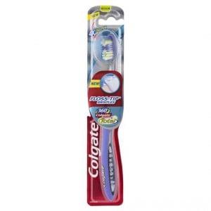 Colgate Toothbrush Floss Tip 360 Medium