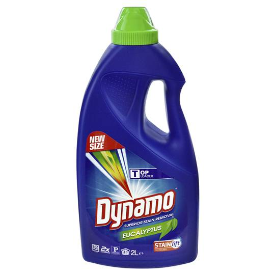 Dynamo Top Loader Liquid Eucalyptus