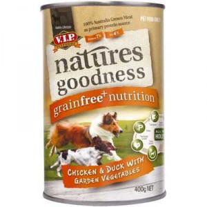 Vip Natures Goodness Grainfree Adult Dog Food Chicken & Duck With Vegetables