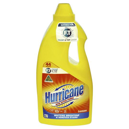 Hurricane Front Loader Liquid Lemon