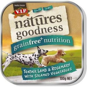 Vip Natures Goodness Grainfree Adult Dog Food Lamb Rosemary & Vegetables